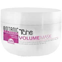 Tahe Volume Mask cute e capelli grassi 300 ml.