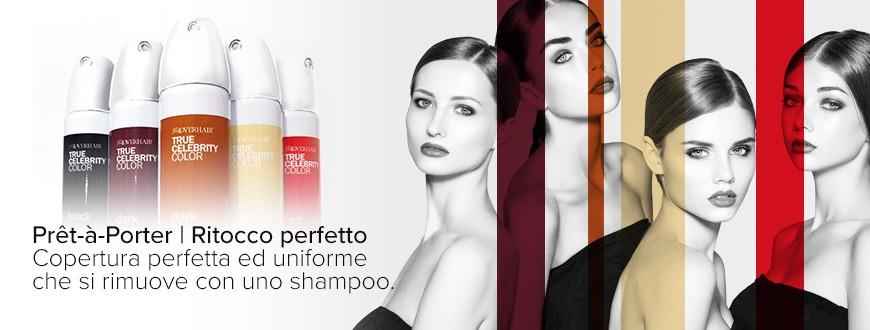 Facile da utilizzare e immediato, copre facilmente la ricrescita dei capelli bianchi o crea effetti colore sui tuoi capelli.